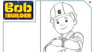 Colour in Bob the Builder
