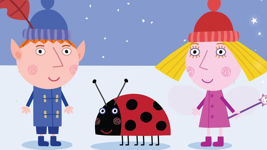 Ben and Holly Christmas Poster | Milkshake