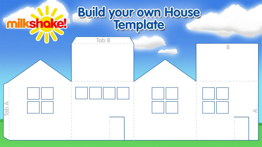 Build your own house milkshake Build your own house